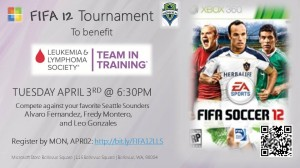 FIFA12 Ad Slide TEAMINTRAINING Sounders EVENT 040312 300x168 Kick Cancer to the Curb!